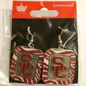USC Dangle Earrings